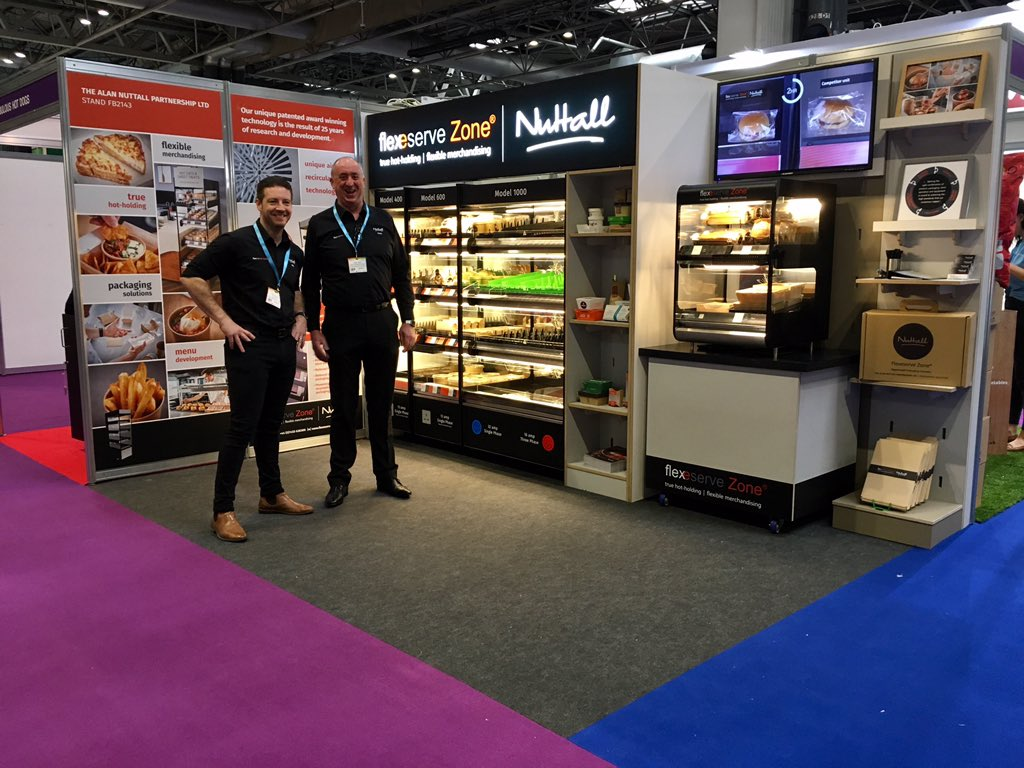 We are all ready to go! If you're visiting the Leisure, Food & Beverage Expo head over to stand FB2143 where our team will be happy to talk about our Flexeserve Zone®. We are like no other hot food display unit. #LFB19 #hotfoodtogo #flexeserve https://t.co/gcQmRY92iV
