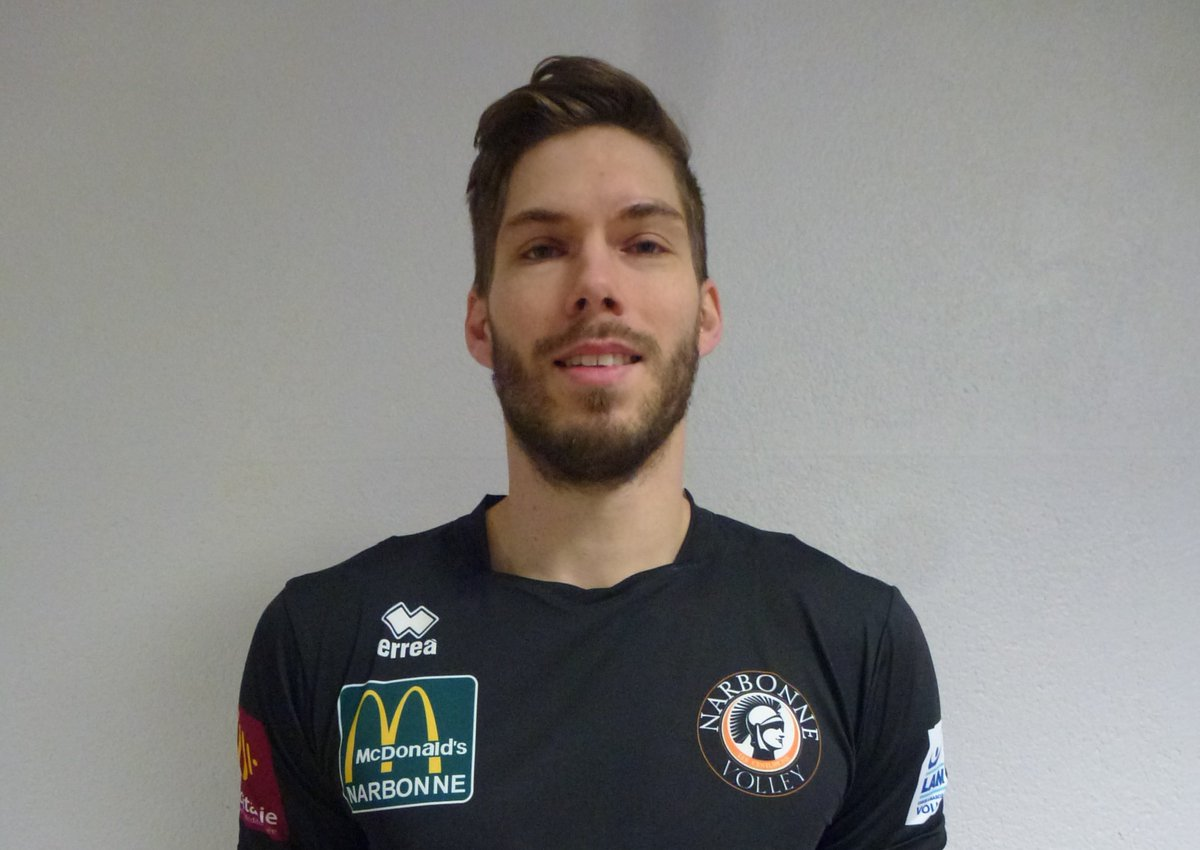 Jan Klobučar, international slovène 🇸🇮 et joker des #Centurions @LNVofficiel...