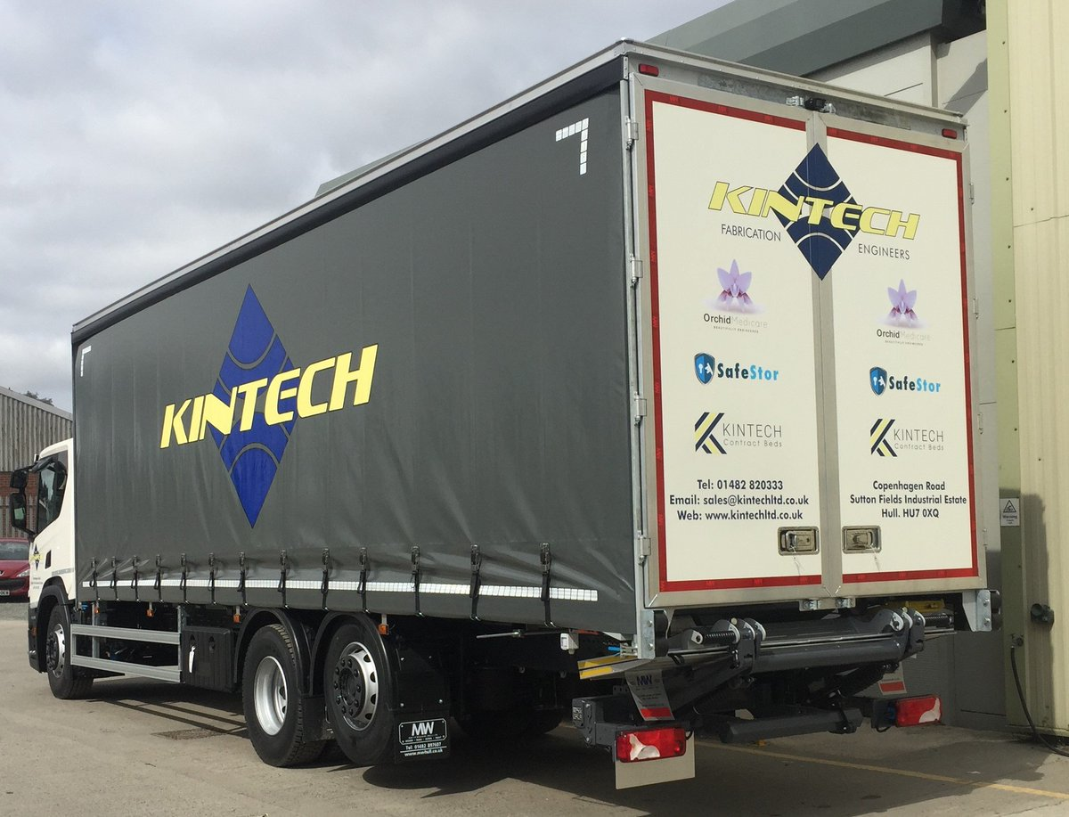 test Twitter Media - 26t Scania P250 curtainsider with 1500kg tuck away tail lift   Curtains supplied and sign written by Andrew Mitchell & Co  @ScaniaGroup @ScaniaUK  #ScaniaTrucks #KintechLtd @Kintechltd #Curtainsider #AndrewMitchell #TuckAwayTailLift #MWHull #KeepingBritainMoving https://t.co/iTZ13qzfer