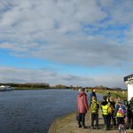 Image for the Tweet beginning: At Acle Bridge with Acle