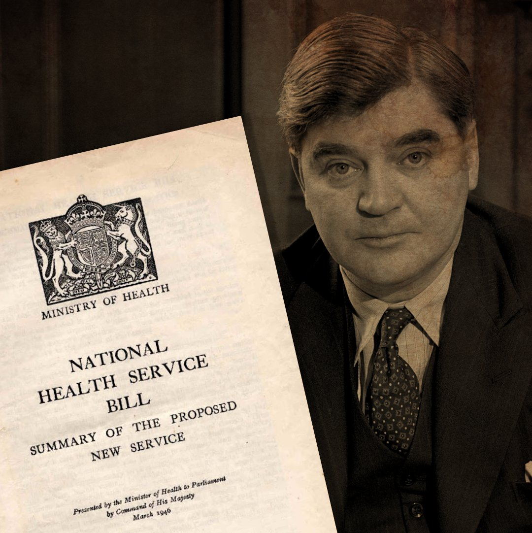 On this day 73 years ago, Nye Bevan's National Health Service Bill became law. This was our first step to setting up a truly universal healthcare system– the NHS. The Tories voted against the NHS Bill 22 times. They cant be trusted to protect it. Labour will always care for it.