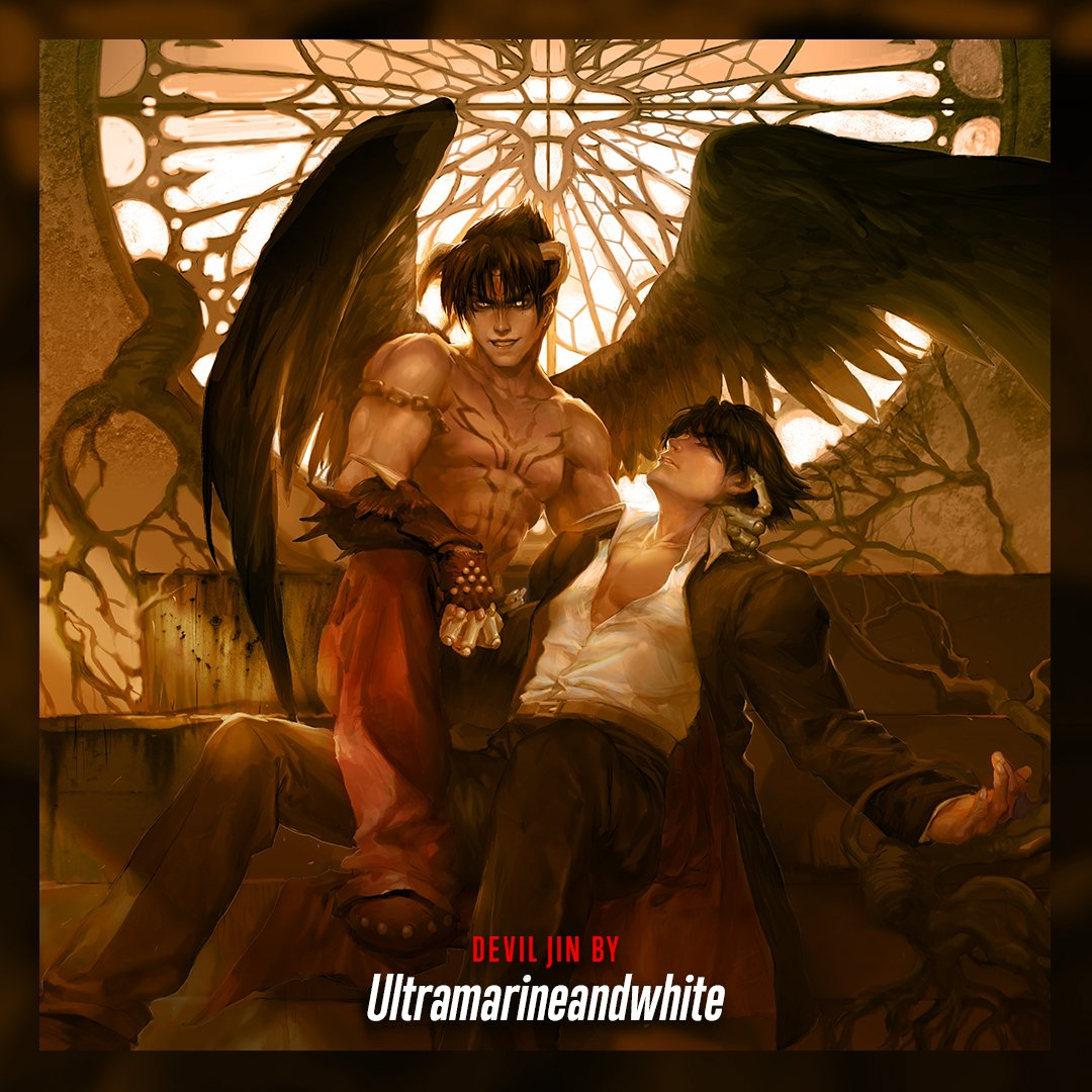 Tekken On Twitter Devil Jin Looks Both Devilish And Angelic In This Stunning Piece By 1343454821 Which Of Jin S Conflicting Sides Is Your Favorite Tekken Https T Co I0o87w6ir7