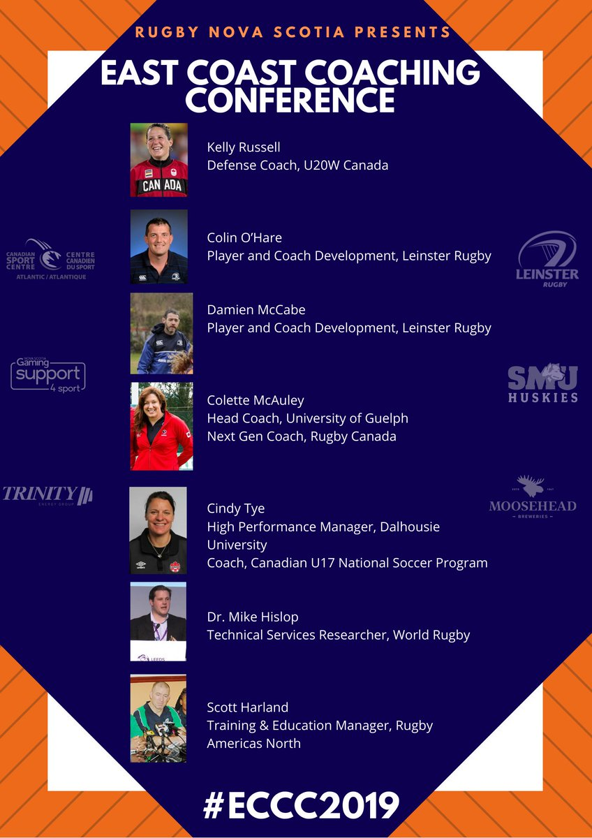 THIS WEEKENDS East Coast Coaching Conference presenters and schedule announced! Saturday: Learnings for Rugby and Non Rugby Coaches Sunday: Rugby Specific admin.sportsmanager.ie/sportlomo/regi…