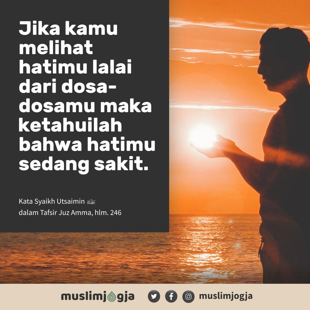💡 Jika kamu melihat hatimu lalai dari dosa-dosamu, maka ketahuilah bahwa hatimu sedang sakit.⠀ ➖➖➖➖➖➖➖➖➖➖➖➖➖➖➖➖➖➖⠀ 📔 Syaikh Utsaimin, Tafsir Juz 'Amma, hlm 246⠀ ⠀ https://t.co/qJ4jJM6k87