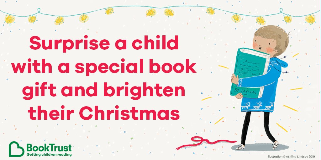 This can be a really difficult time of year for children who are vulnerable or in care, but #JustOneBook could brighten their Christmas. For £10, you could help us send out a surprise book gift - find out more here: booktrust.org.uk/support-us/giv…