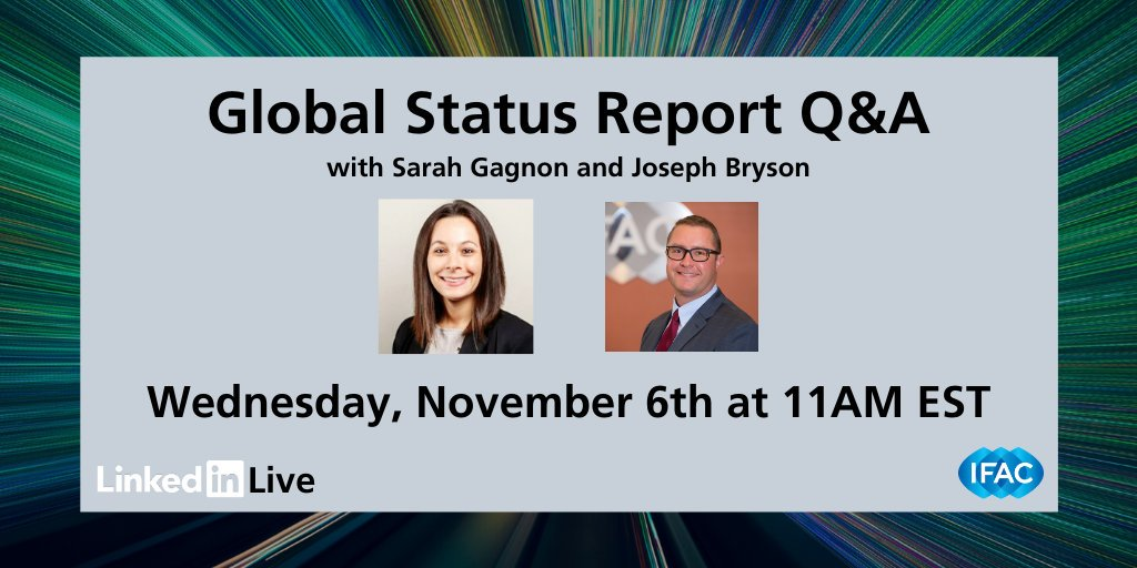Despite trends that lean towards nationalism, the accounting industry is coming together across the world to implement industry standards. Learn more during our live broadcast at 11am EST today. linkedin.com/company/ifac