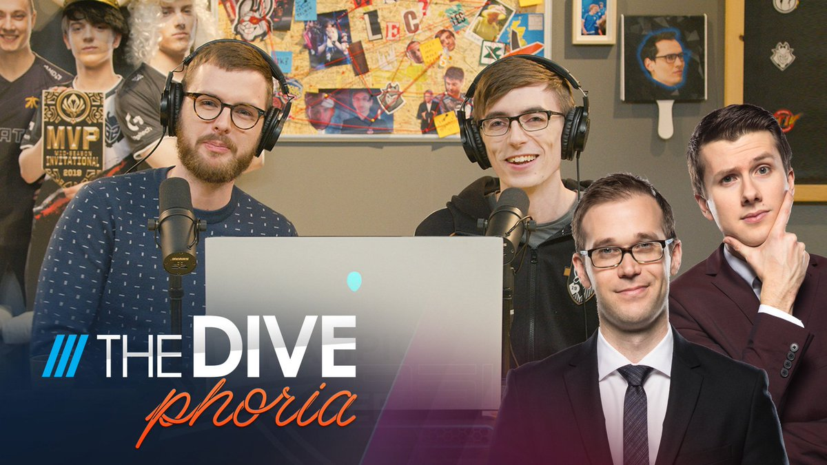 The Divephoria returns to cover Worlds! In this week's episode, @DanielDrakos, @RiotVedius, @esportsKobe_ and @RiotJatt review Semifinals and make their predictions for the Final! #Worlds2019 📺 YouTube: youtube.com/watch?v=WDzzDE… 🔊 Soundcloud: soundcloud.com/euphorialol/th…