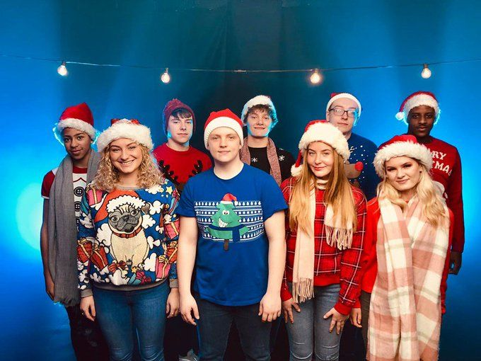 🎄Today @OldhamCollege launched their Christmas single Christmas With You! All proceeds from downloads will be donated to #STOPTHETRAFFIK 📄 Read all about it: buff.ly/2CeQBhI 🎬 Watch the music video: buff.ly/32pKO3f ❤️ Thank you @OldhamCollege!