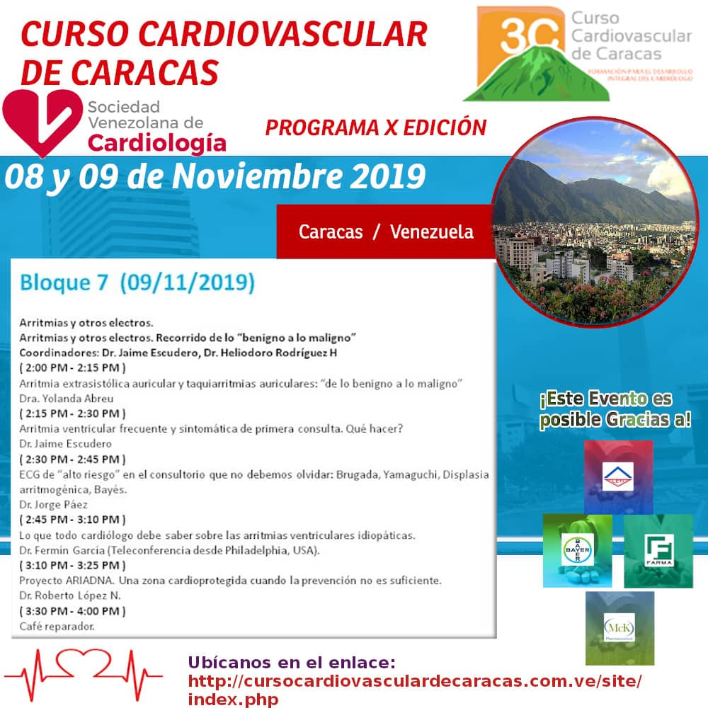 Fermin Carlos Garcia On Twitter Proud Of Participating In The 3ccardio Apoyo Incondicional A Los Colegas Venezolanos Mis Panas Pa Tras Ni Pa Tomar Impulso Sigamos Adelante Que Faltan Muchos Capítulos Por Escribir