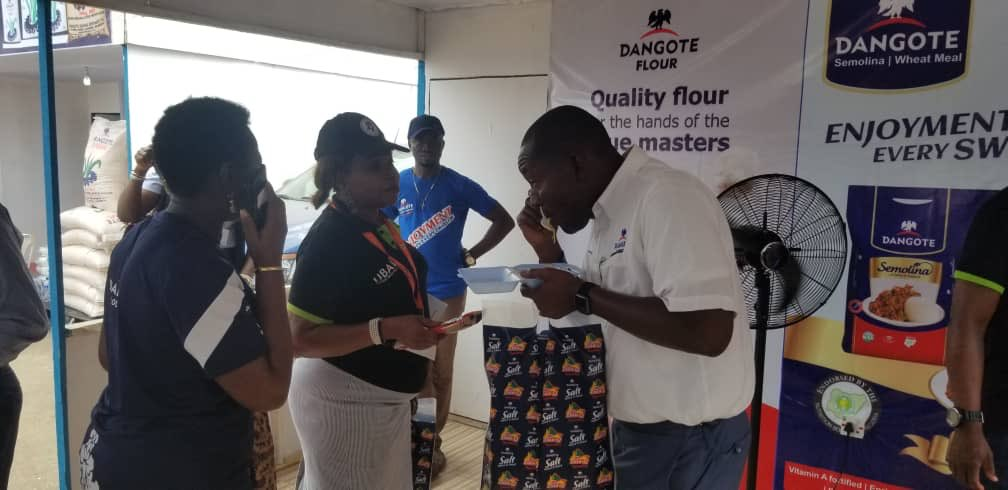 Hello everyone, have you tried out our @DangotePasta +Stew Mix yet? Join us at the Lagos International Trade Fair today. #DangoteKitchen #LagosInternationalTradeFair #DangotePasta #NoWahalaJollofPaata https://t.co/z5x1PplvEf