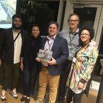 Image for the Tweet beginning: Clark-Fulton gets national Citymaker Award