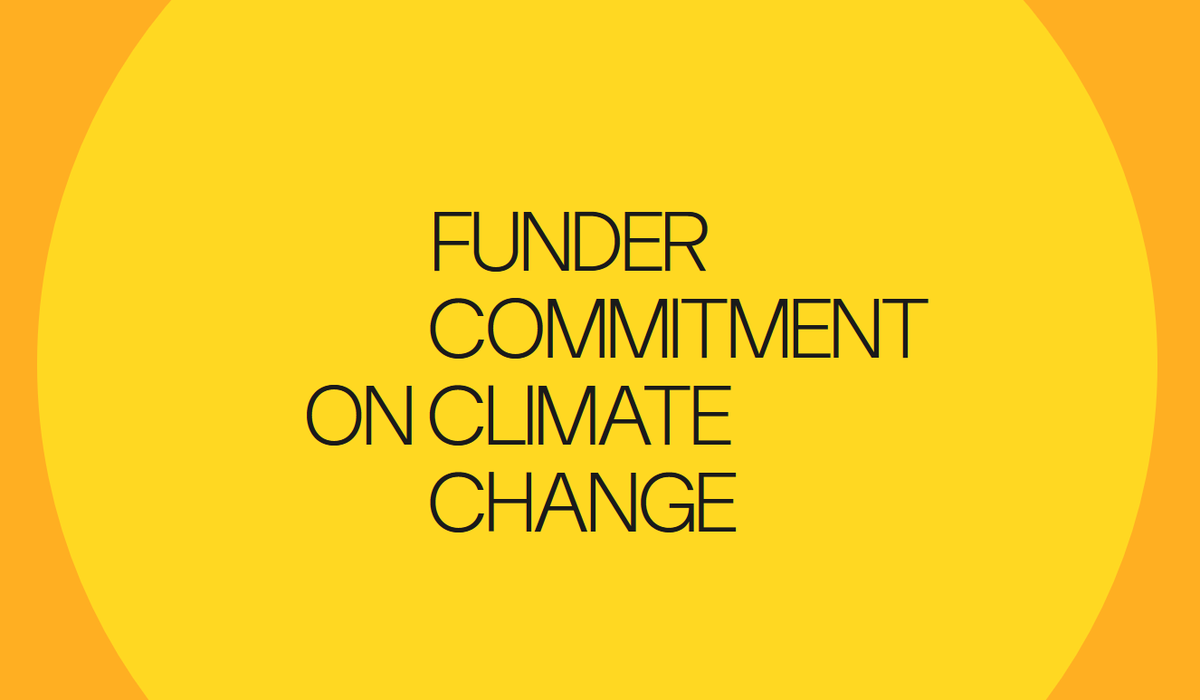 test Twitter Media - Today we signed the #FunderCommitment. The scale of the crisis we face & scale of solutions needed, leave no time & no room for 'business as usual'. We must all play part in addressing the causes of climate breakdown & supporting adaptation to its effects https://t.co/x8wa76XXqo https://t.co/E4bVCOUjqb