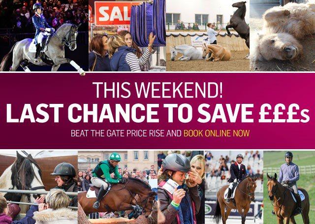 Only days left to go!! Anyone not yet booked tickets? Book by midnight tomorrow to beat the price rise! More £££s for all the shopping 🤗 https://t.co/1w9GPbnjz2