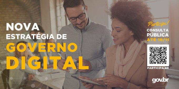 Texto: Nova Estratégia de Governança Digital