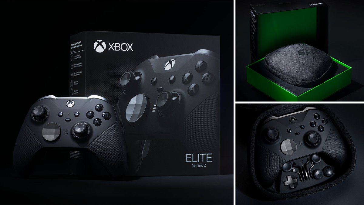 RT + Follow @xboxuk to be in with the chance of winning the brand new Elite Series 2 - the world's most advanced controller 🔥🎮  Ends 13th Nov. T&C's ➡️ https://t.co/SYqbnoTM59 https://t.co/lGrJinyrqY