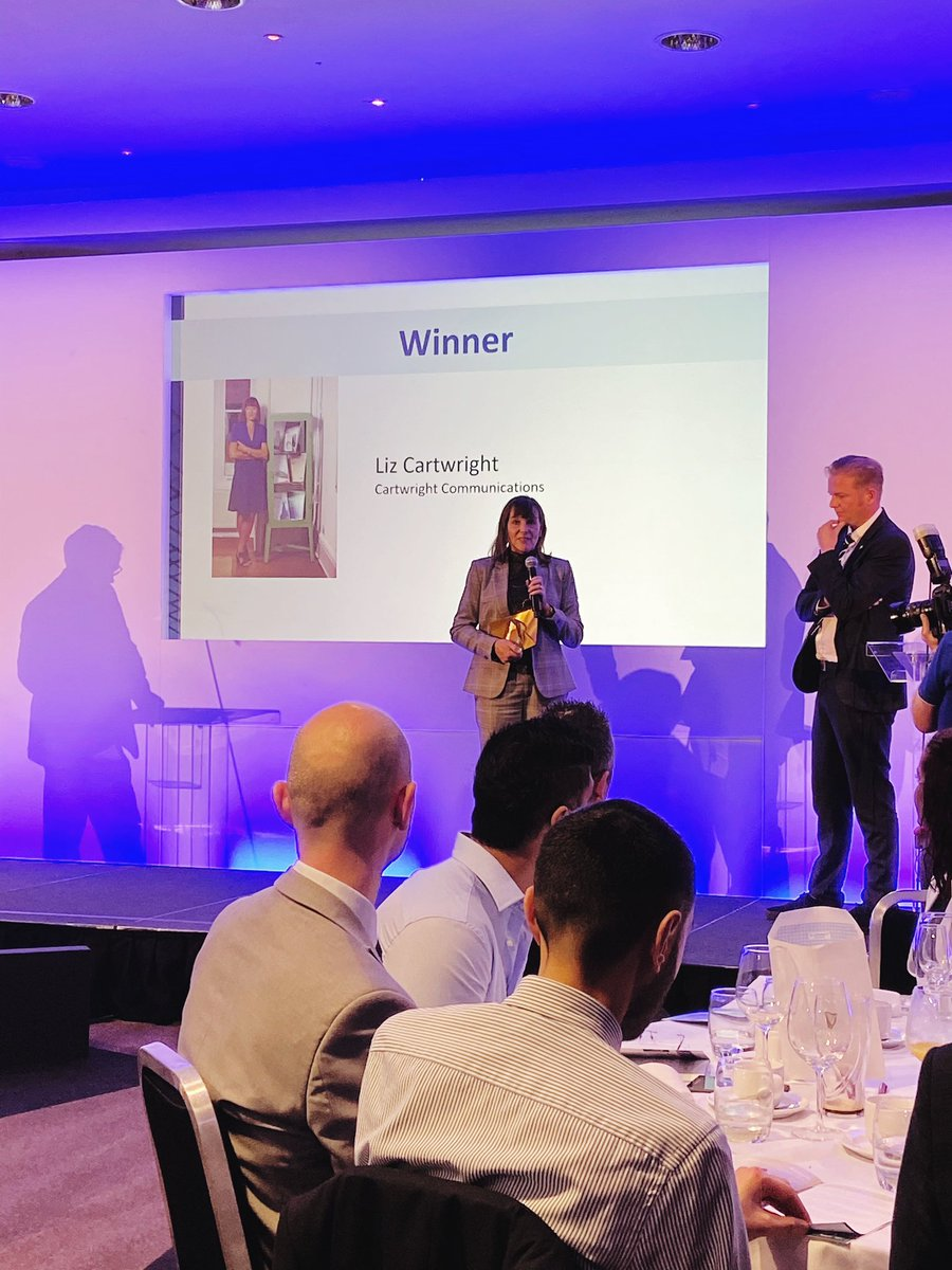 Congratulations to the amazing @LizCartwrightCC and to all of the team at @CartwrightComms from all at team Leonard Design #achievement #congratulations @ribaeastmidland @InvestInNottm