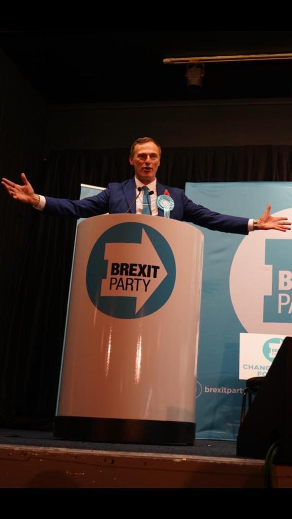 Tune into @LBC just after 3pm to hear me report from the @brexitparty_uk campaign trail in Ashfield where the beating heart of Brexit is stronger than ever