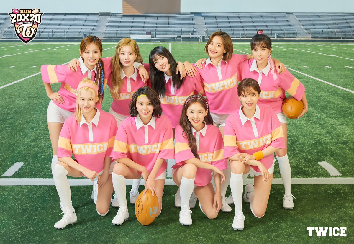 One for Nine, Nine for One. 2020년은 우리의 해. 우승을 향해 달린다! Go TWICE! TWICE UNIVERSITY Rugby Team TWICE #TWICE #트와이스 #2020시즌그리팅 #TWICEUNIVERSITY #RugbyTeam #ComingSoon