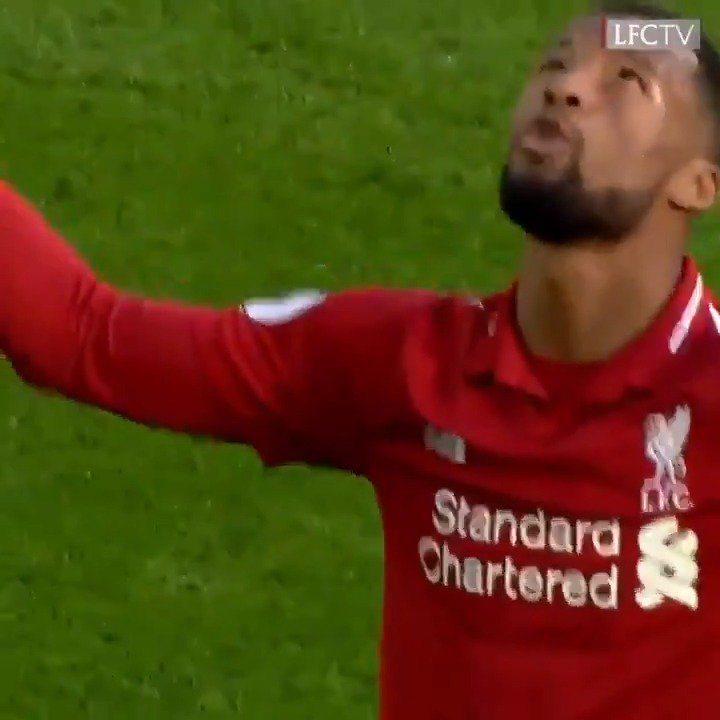 The last time we played @afcbournemouth, @GWijnaldum did this 😱