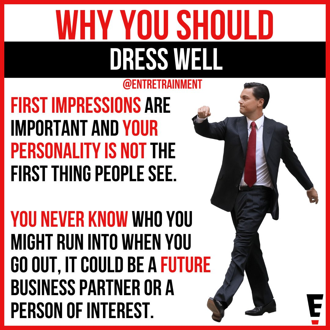You only have one first chance to make one first impression that lasts a lifetime.  #fashion #successmindset #bussinessmind #millionairegentlemen #successminded #entrepreneurquotes #businessadvice #entrepreneurial #quotesaboutlife #successtips #successquote #style #styletipspic.twitter.com/DaFPIPAB4d