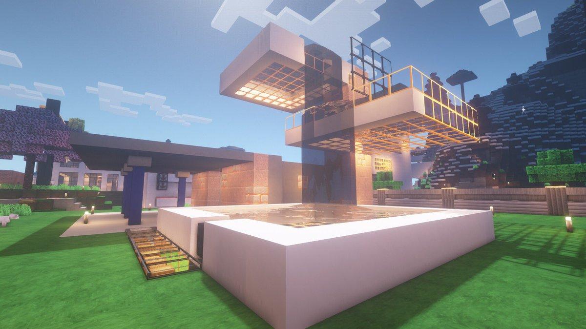 """Bart Simon on Twitter: """"A Bauhaus interpretation of a Minecraft"""