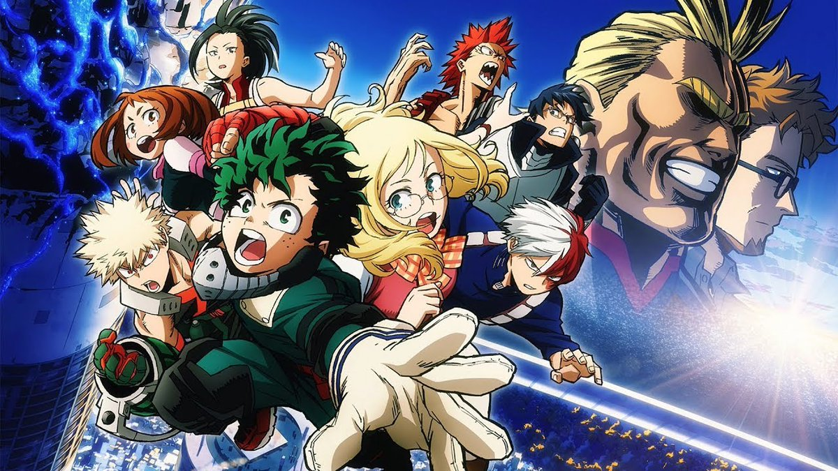 Boku No Hero Academia Heroes Rising Movie English Bokumovie Twitter