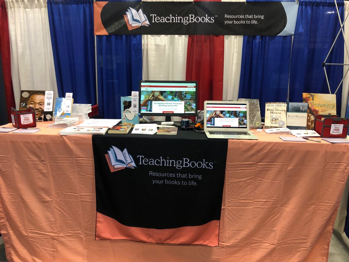test Twitter Media - @GaETConf sporting new colors and fabulous resources about books and authors. #GaETC19 https://t.co/PTi9YS15aH