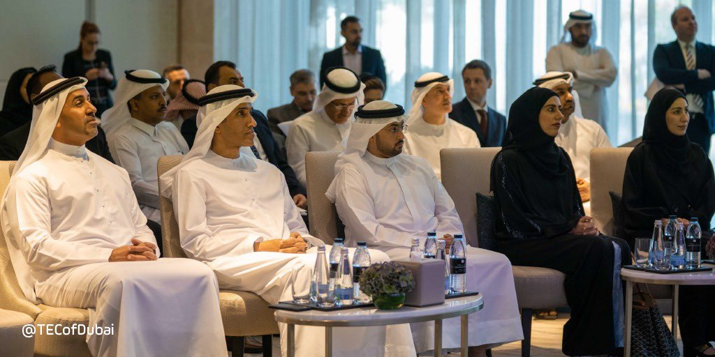 @HamdanMohammed launched the #Dubai Regional City Data Centre for the MENA region, stressing on Dubai's role in leading the efforts directed at building cities and rehabilitating a sustainable environment for future generations. https://t.co/BtIXVpCHh5