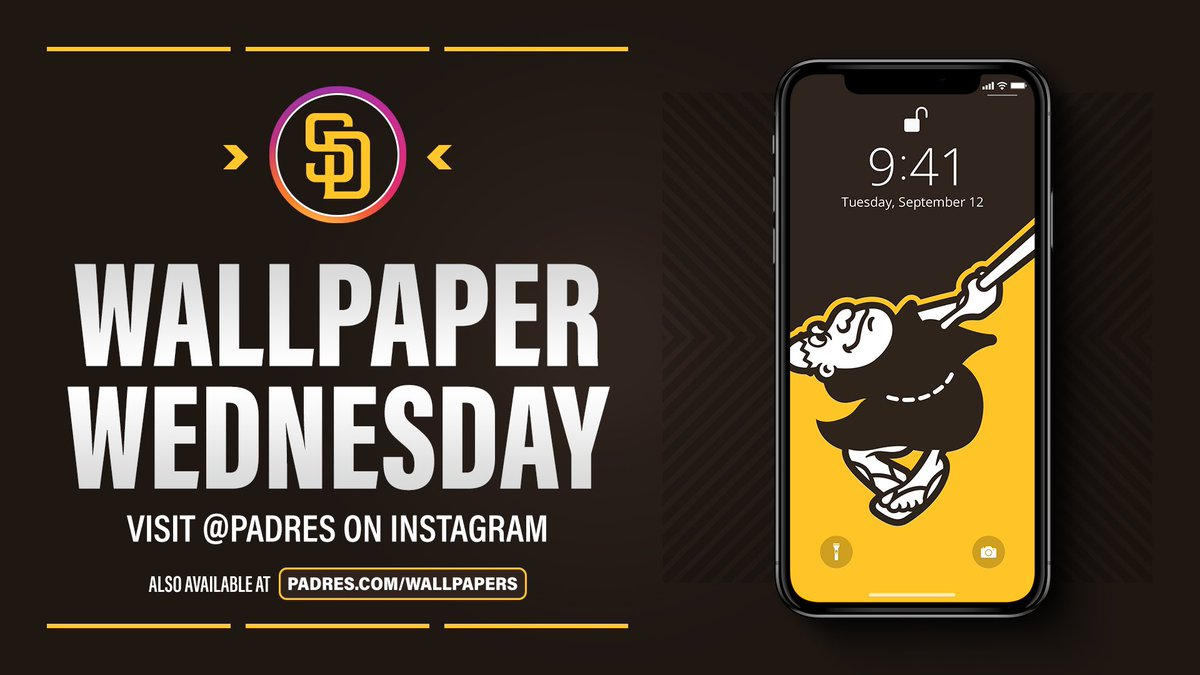 Slam Diego Padres On Twitter Wallpapers But Make It Brown Brownisback Wallpaperwednesday