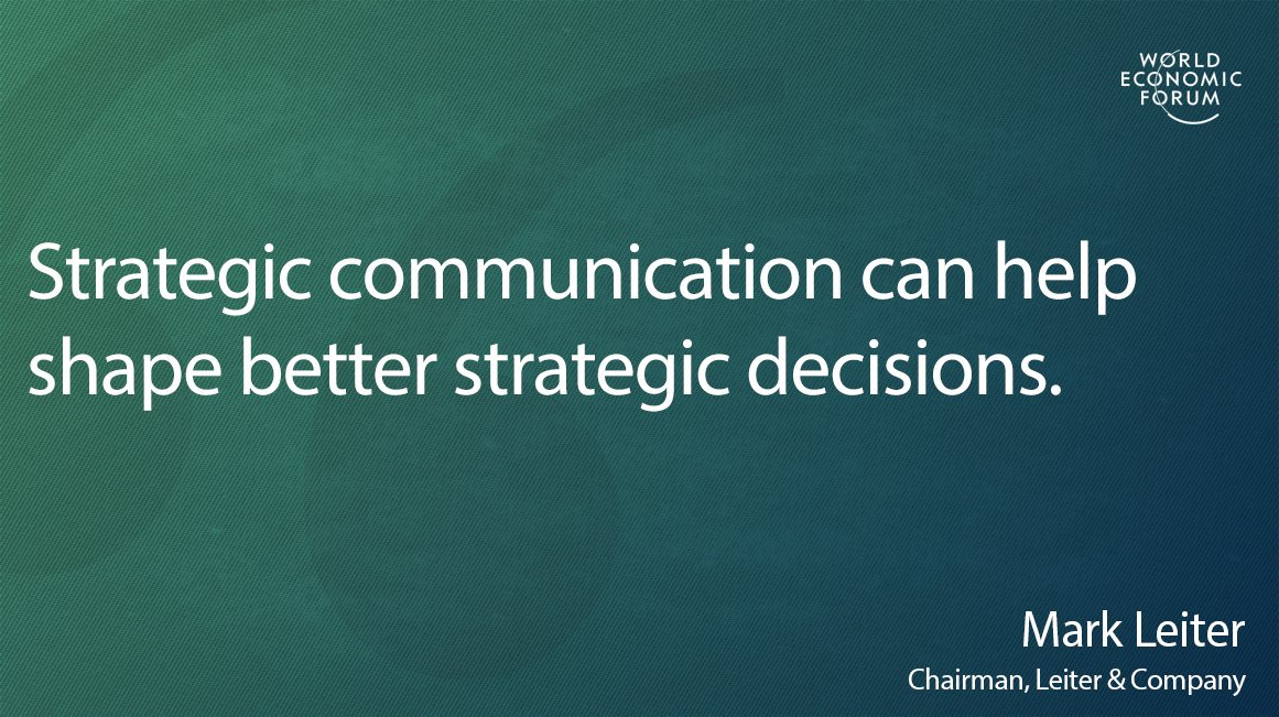 Heres why business strategists arent focusing enough on communications wef.ch/2oLPAdO #Business #Strategy