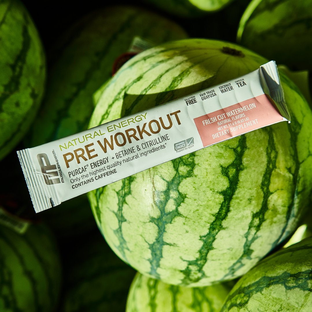 Our single packet All Natural Watermelon Preworkout is available now at @sprouts! Perfect for traveling and for those always on-the-go! https://t.co/I5VBpBfuNx