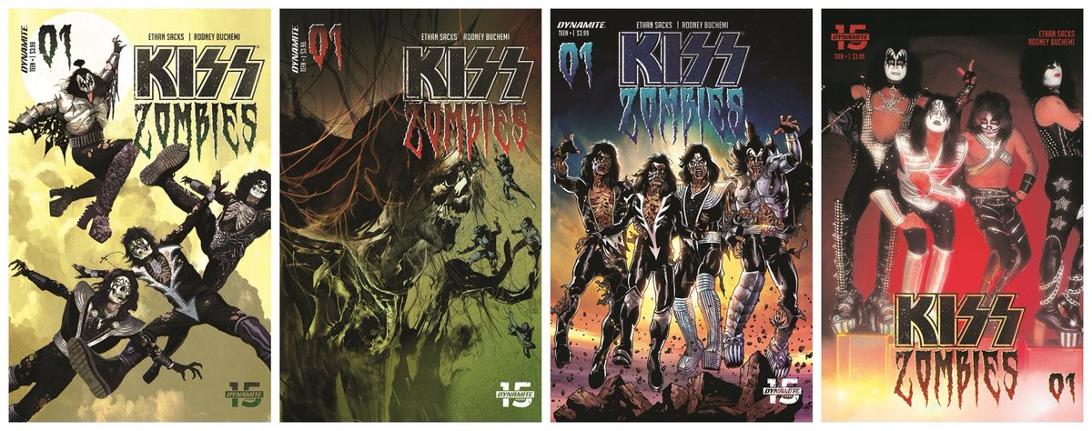#KISS ZOMBIES Issue #1 is in stores now! @DynamiteComics