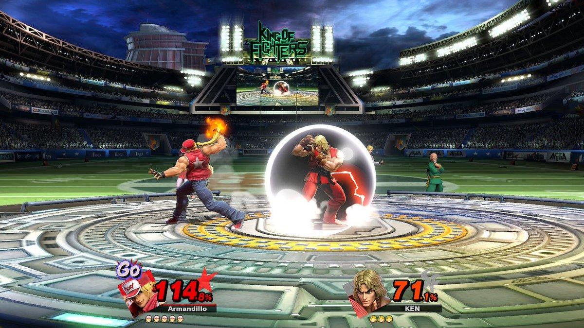 Thank you Mr. Sakurai for bringing Capcom vs SNK 3 to the Switch #SmashBros #NintendoSwitch