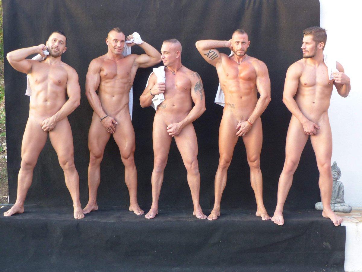 Sexy Half Naked Guys