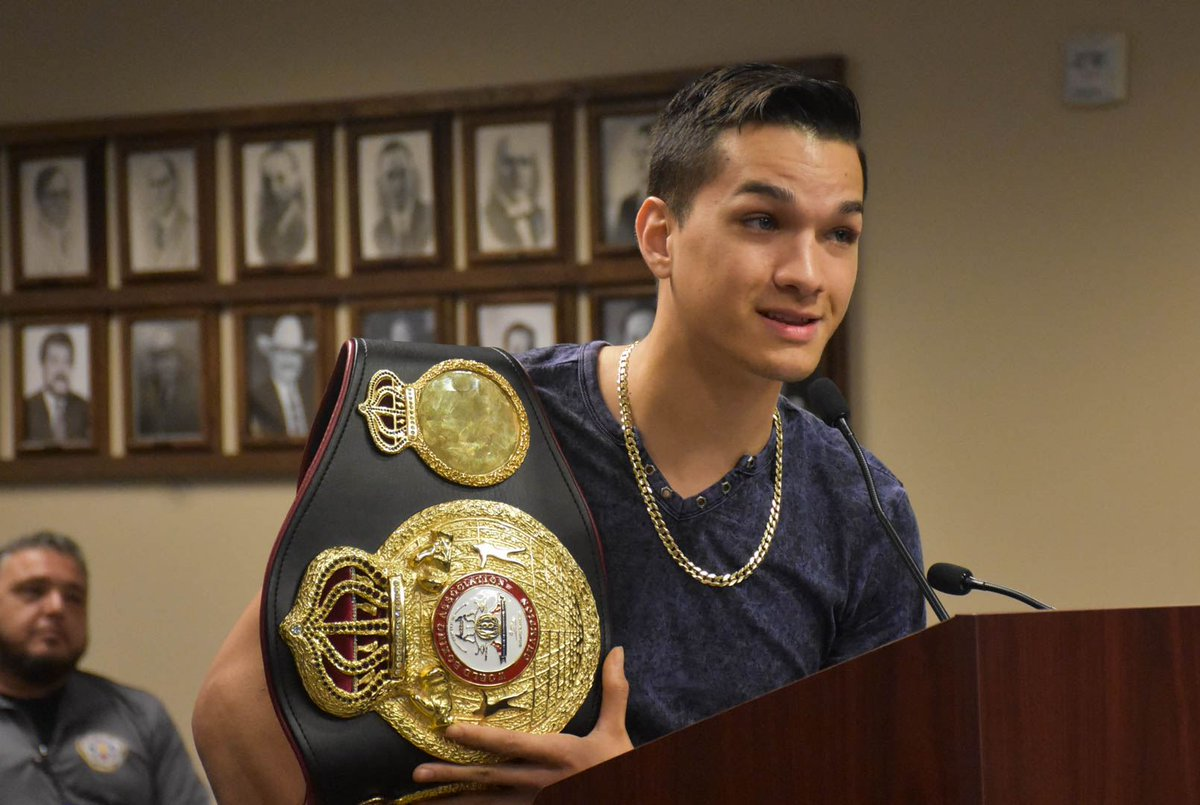 """test Twitter Media - On being 22 and holding a world title:   """"Being the youngest champion at 122, it's a privilege to be this young and hold the title. I'm definitely working hard for this fight."""" -@BrandonLeeFig   #FigueroaCeja #WilderOrtiz2 https://t.co/BE2p2Ulv1m"""