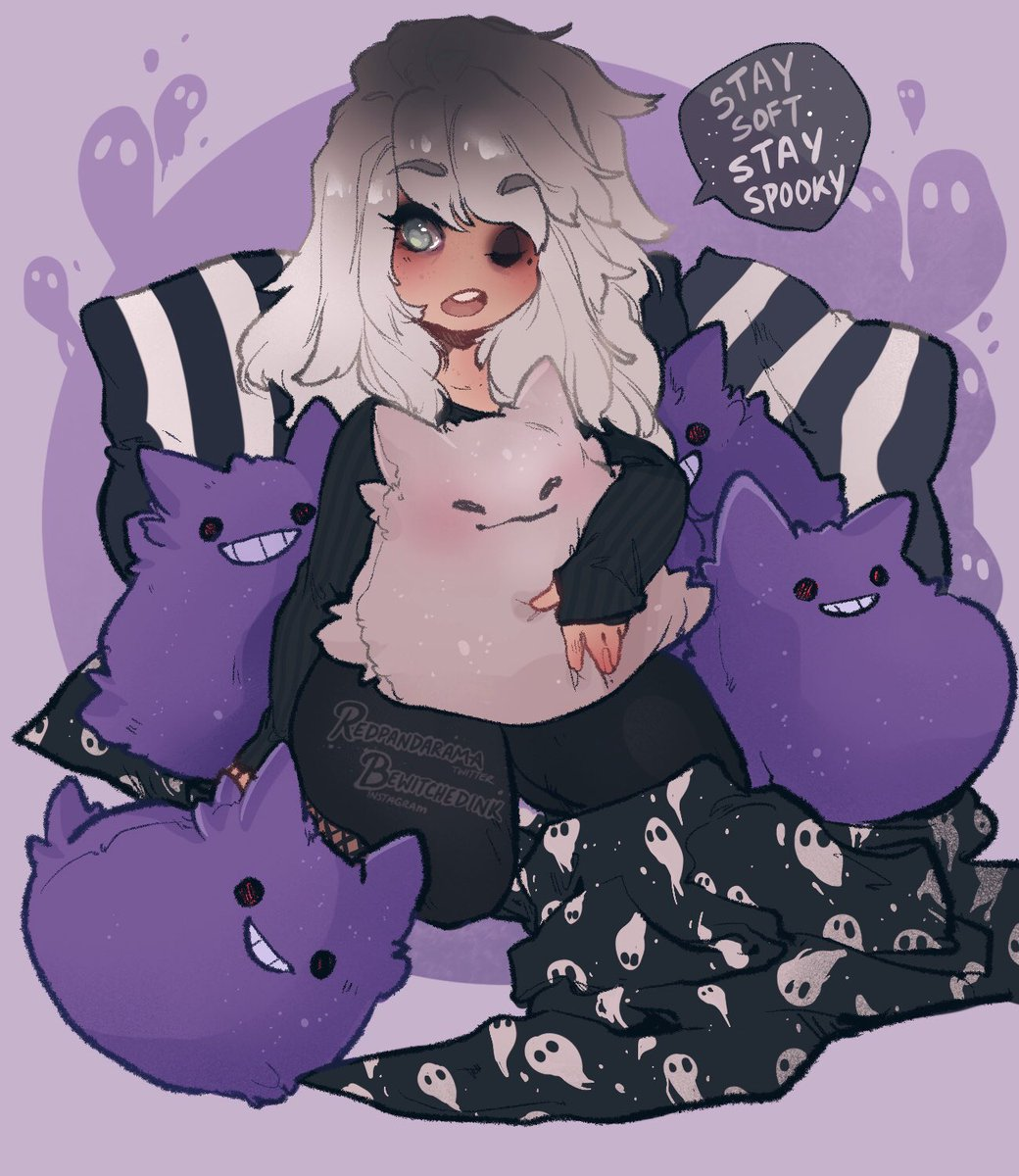 My kingdom for all things squishmallow-shaped, especially if they're of Chipotle 🖤🤍😈🤍🖤