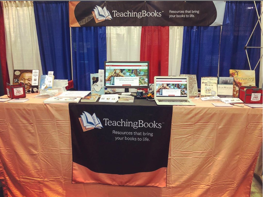 test Twitter Media - It's a busy week for us at TB! Kym is at @FloridaMediaEd and Nick is at @GaETConf. Stop by and say hi! #Fame19 #GaETC19 https://t.co/MbUgck6voE - follow us on Instagram - @teachingbooks https://t.co/fynMeVsmcZ