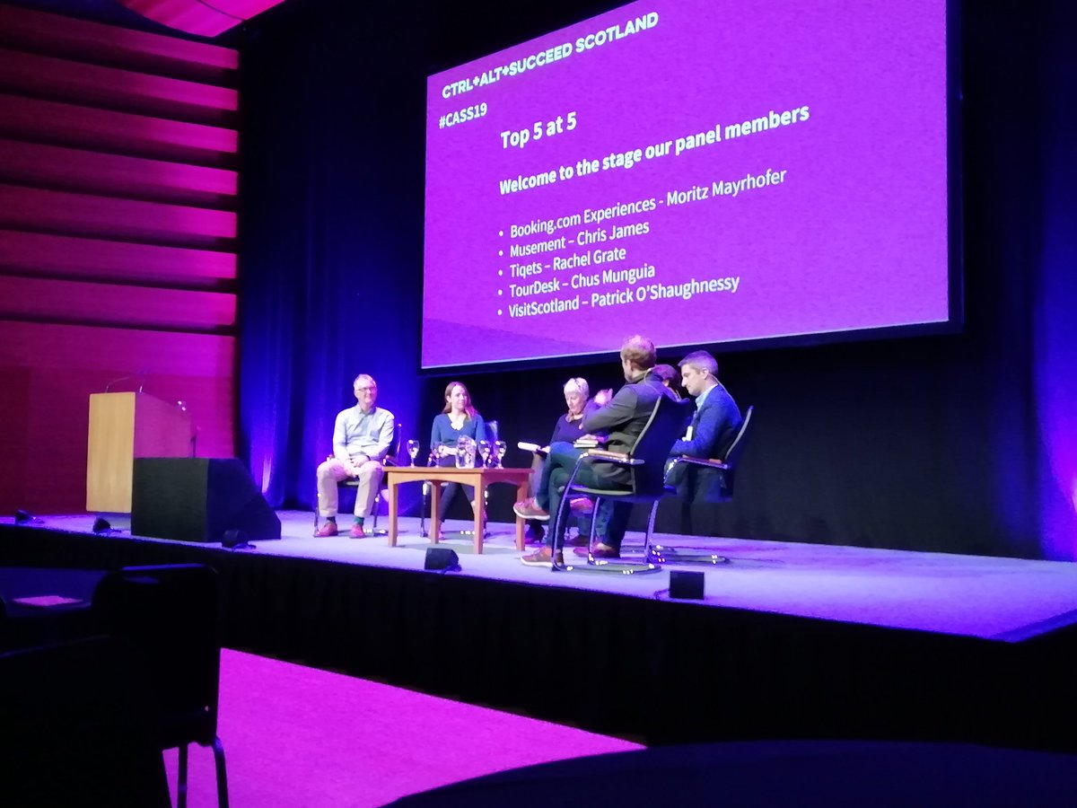 Our final session of the day is underway! Some top tips from our panel of industry experts #CASS19 @VisitScotNews