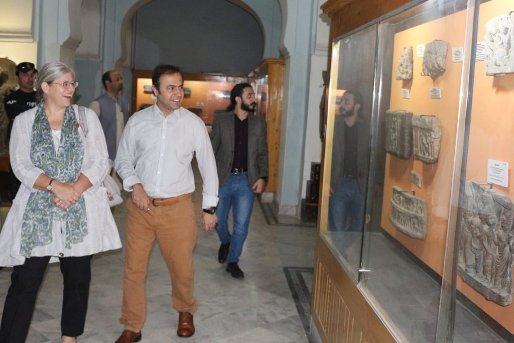 @gilmour_wendy Thank you for visiting Peshawar museum and appreciating the rich heritage of KP.