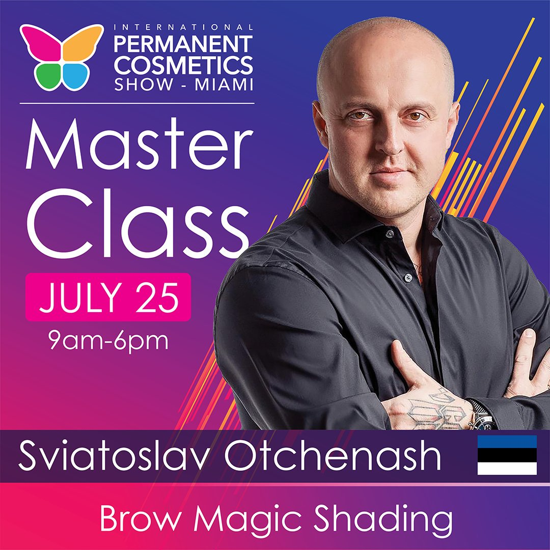 Book your spot now for Brow Magic shading July 25th with our early bird prices at http://wwww.ipcs.show #sviatoslavotchenash #magicshadingbrows #pmuartist #pmuconvention #pmushow #theipcs #ipcs #pmu  #eyebrows  #pmueyebrows  #Pmuseminar #PMUtraining  #Pmumiami  #pmuconferencepic.twitter.com/yQlRZdpv6a