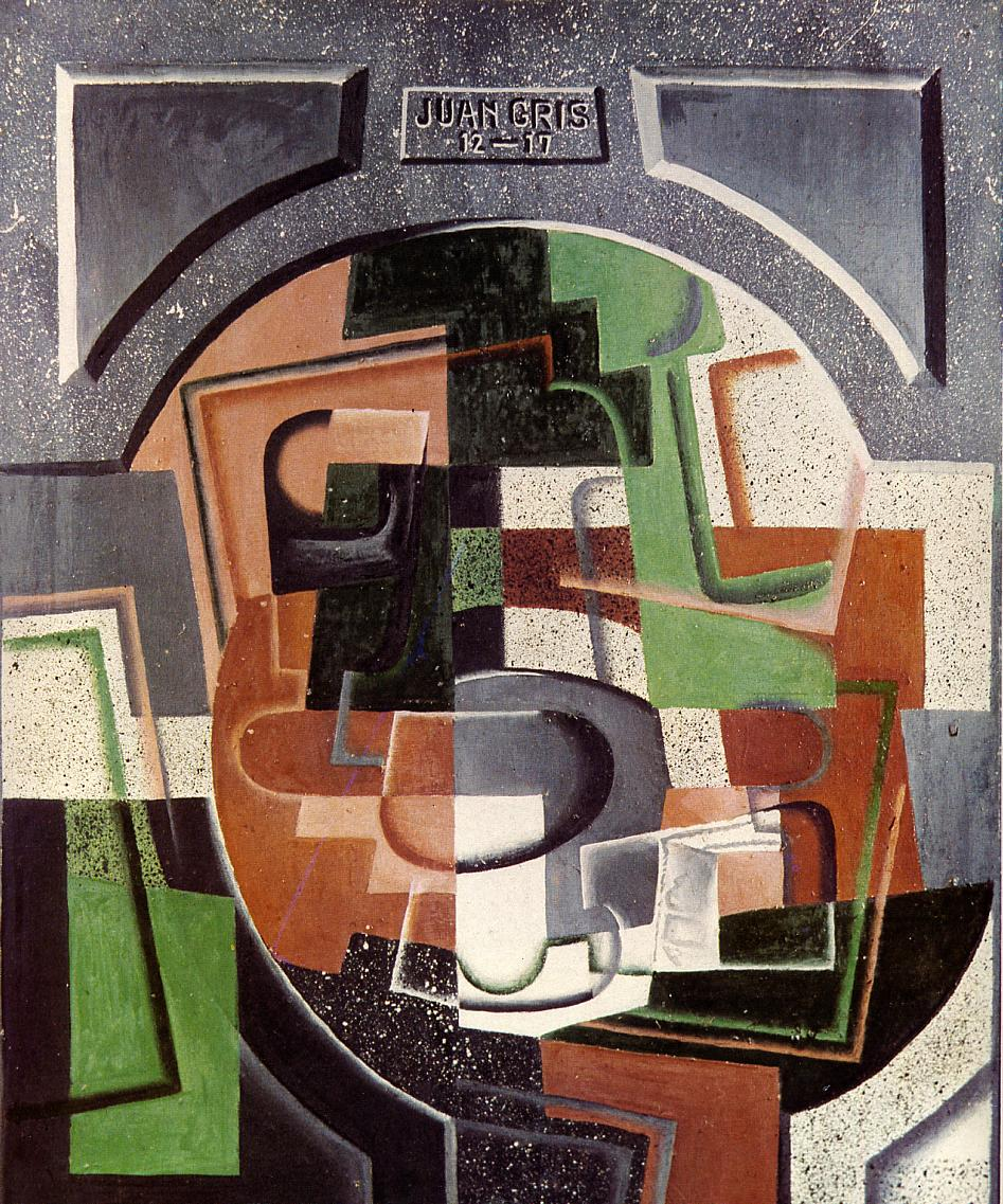 Still Life on Plaque, 1917 #syntheticcubism #juangris <br>http://pic.twitter.com/FTGphbHDN1