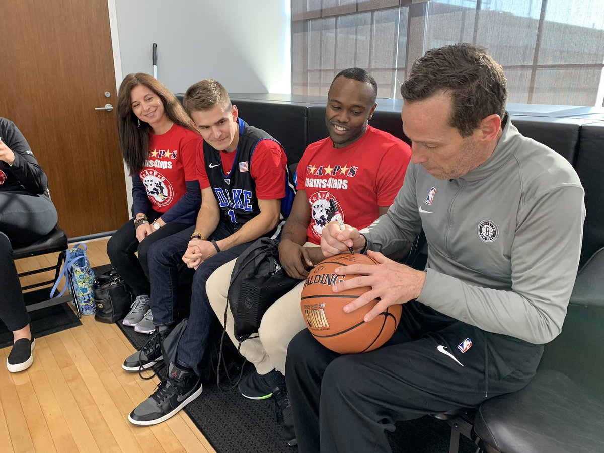 Today we welcomed families from @TAPSorg to practice! The Tragedy Assistance Program for Survivors offers compassionate care to all those grieving the loss of a military loved one.