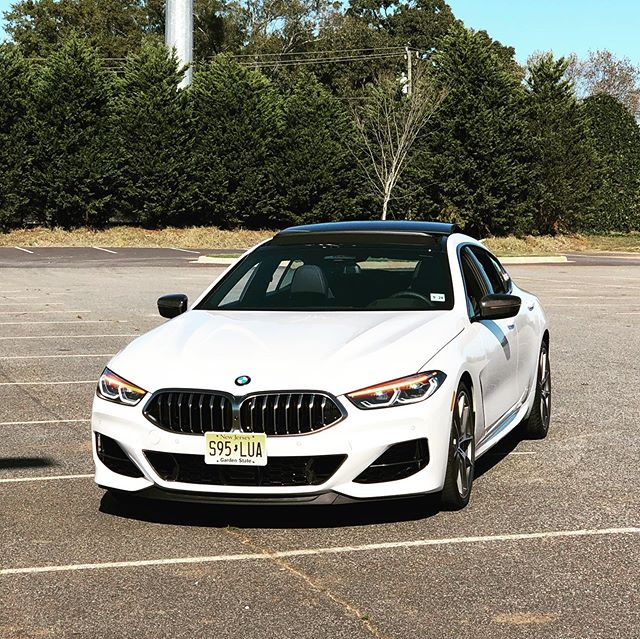 Quite possibly... the prettiest new 4-door you can buy today. The insanely fast and gorgeous 523 HP 4.4L twin-turbo V8 2020 bmwusa #M850iGranCoupe. It looks every bit as expensive as the $121,695 as tested price would suggest. #BMWTestFest