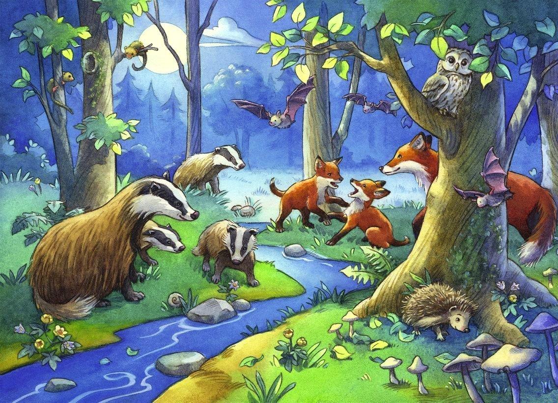 Сюжетные картинки про природу