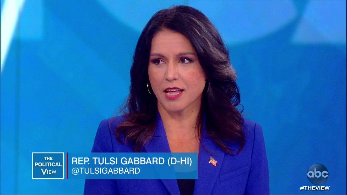 @TheView's photo on Tulsi Gabbard