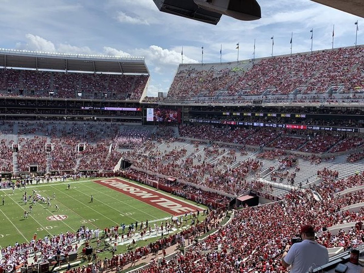 The Alabama SGA warns groups: Protest Trump during the LSU game and risk losing your reserved seating.