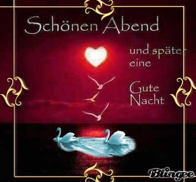Schöne romantische abendbilder
