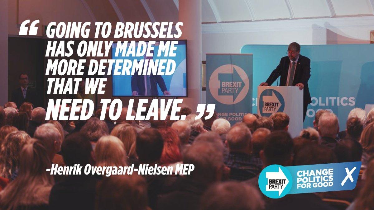 """The U.K. has been devastated by EU bureaucracy."""
