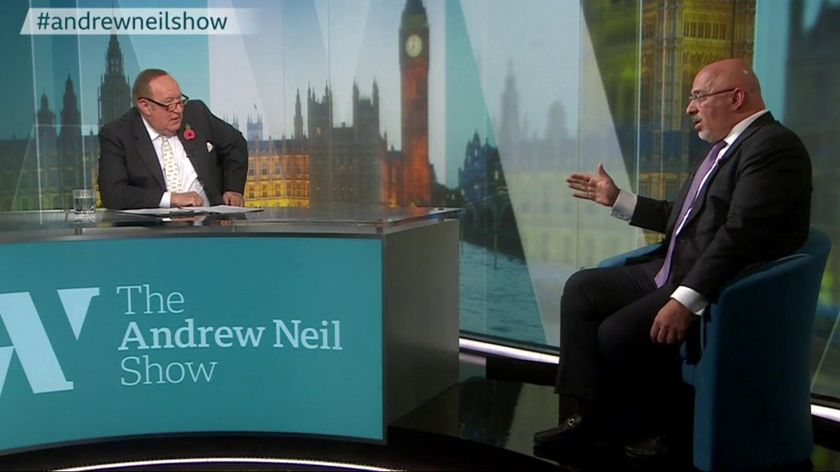 """.@afneil asks Nadhim Zahawi if Jeremy Corbyn really wants to have rich people 'shot'? I dont know, you will have to ask him that question"""" replies the Conservative business minister #AndrewNeilShow bbc.in/33oqpNy"""