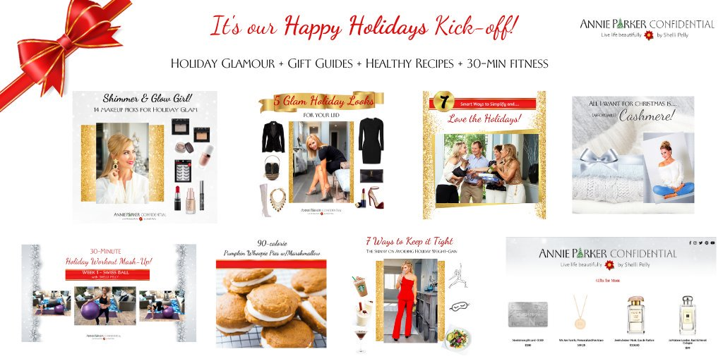 Holiday GLAM + Gift Guides + Healthy Recipes + 30-minute Fitness.  Stalk the Holiday Blog:    #holidaygifts #giftguide #bbloggers #beautyaddict #beautybloggers  #shopping #holidays #christmas #stylebloggers #holidaybeauty #holidayglam